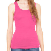 be Fearless  - Ladies' Sheer Mini Rib Tank