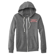 Urge to clean - Triblend Full-Zip Fleece Hood