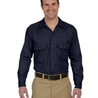 Men's 5.25 oz. Long-Sleeve Work Shirt Thumbnail