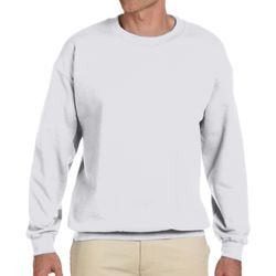 Adult 9.7 oz. Ultimate Cotton® 90/10 Fleece Crew Thumbnail