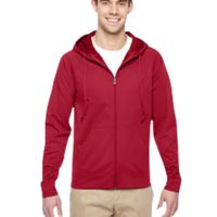 Adult 6 oz. DRI-POWER® SPORT Full-Zip Hooded Sweatshirt Thumbnail