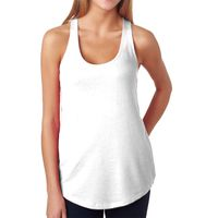 Ladies' French Terry Racerback Tank Thumbnail