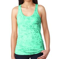 Ladies' Burnout Racerback Tank Thumbnail
