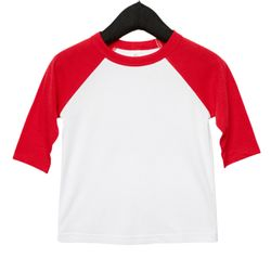 Toddler 3/4-Sleeve Baseball T-Shirt Thumbnail