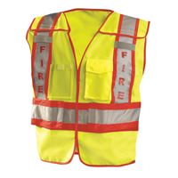 Men's Premium Solid Public Safety Fire Vest Thumbnail