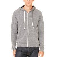 Unisex Triblend Sponge Fleece Full-Zip Hoodie Thumbnail