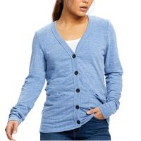 Ladies' 4.9 oz. Long-Sleeve Cardigan Thumbnail