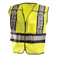 Men's Premium Solid Public Safety Police Vest Thumbnail