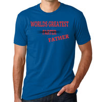 Worlds Greatest Farter Father -  - Men's Premium Fitted Short-Sleeve Crew Thumbnail