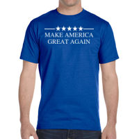 5 Star Make America - DryBlend® 5.6 oz., 50/50 T-Shirt Thumbnail