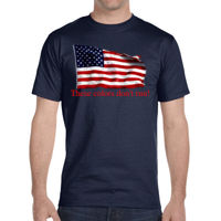 These colors don't run - DryBlend® 5.6 oz., 50/50 T-Shirt Thumbnail