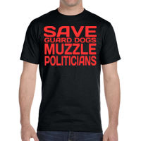 Muzzle Politicians - DryBlend® 5.6 oz., 50/50 T-Shirt Thumbnail