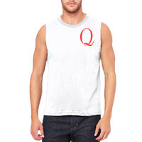 Q-Left Chest - Men's Jersey Muscle Tank Thumbnail