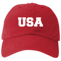 USA Vinyl -  Prime Plus Flexfit Adult Value Cotton Twill Cap  Thumbnail