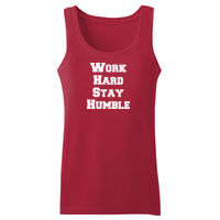 Work Hard Stay Humble - Adult 5 oz. HD Cotton™ Tank Thumbnail