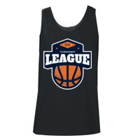 * Basketball-M - Adult Ultra Cotton® 6 oz. Tank Thumbnail
