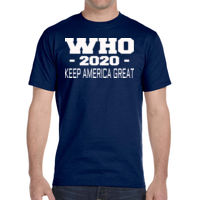 * Who 2020 Keep America Great - DryBlend® 5.6 oz., 50/50 T-Shirt Thumbnail