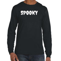 * Spooky - Lightweight Long-Sleeve T-Shirt Thumbnail