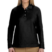* Hope - Ladies' Pima Piqué Long-Sleeve Polo Thumbnail