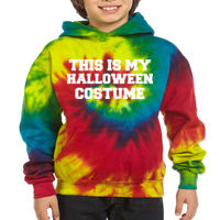 This is my ... Costume - Youth 8.5 oz. Tie-Dyed Pullover Hooded Sweatshirt Thumbnail